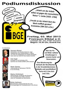 Flyer BGE Podiumsdiskussion 2013-05-03