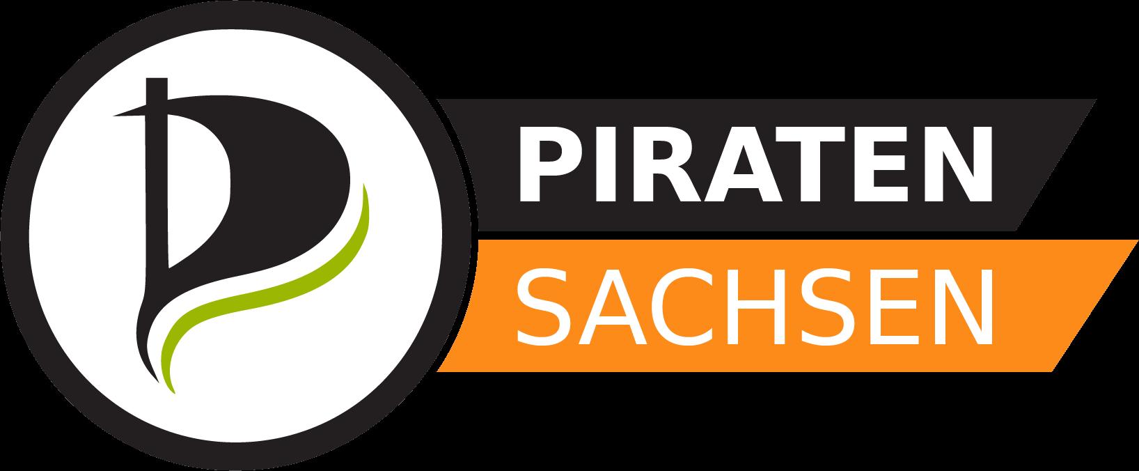 Logo der PIRATEN Sachsen