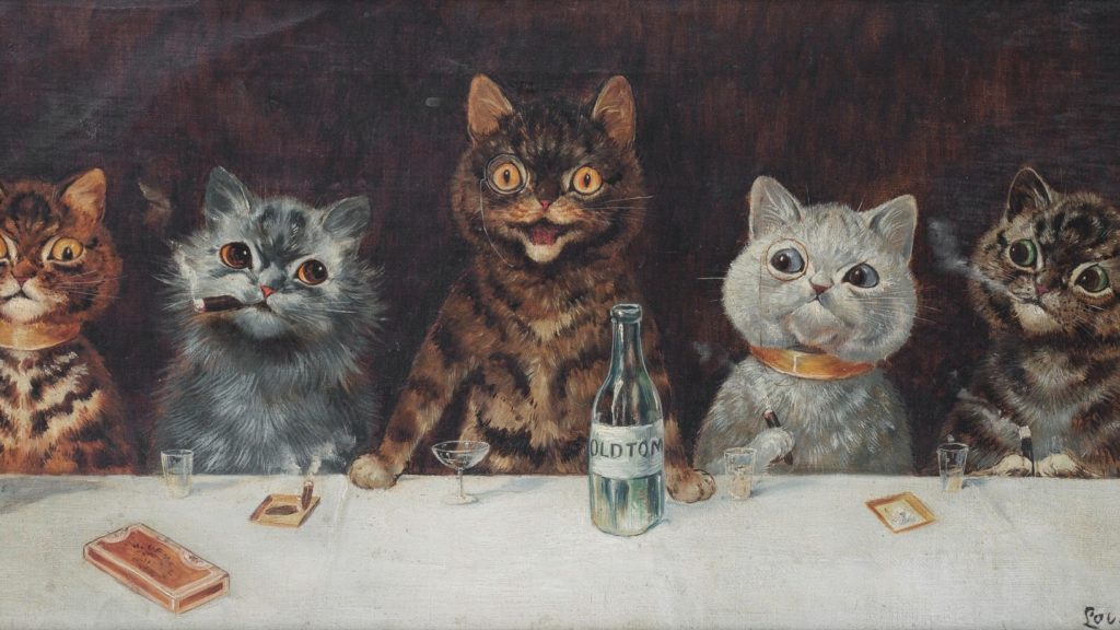 Cats - Louis Wain Print | CC0